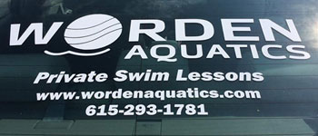 Worden Aquatics - Vinyl Promotional Graphics